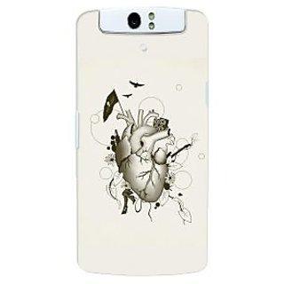 G.store Hard Back Case Cover For Oppo N1