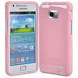 Soft Silicone Gel Skin Case F Samsung I9100 Galaxy S II Babypink [CLONE]