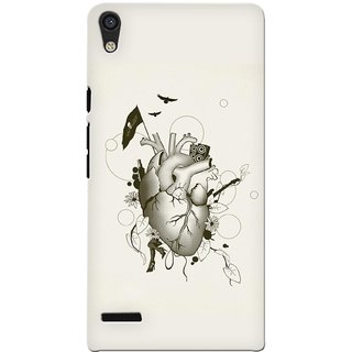 G.store Hard Back Case Cover For Huawei Ascend P6