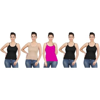 Avali Camisole Combo Pack of 5