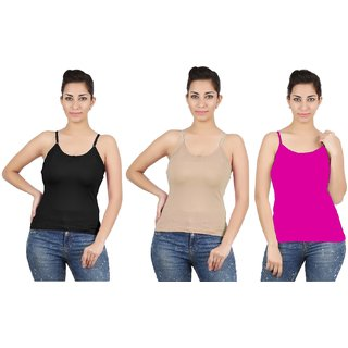 Avali Camisole Combo Pack of 3