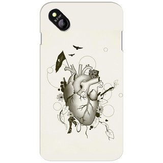 G.store Hard Back Case Cover For Micromax Bolt D303