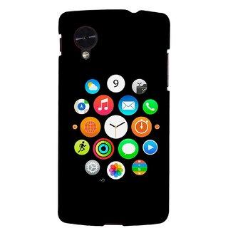 G.store Hard Back Case Cover For LG Google Nexus 5
