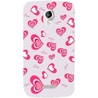 G.store Hard Back Case Cover For Micromax Canvas HD A116