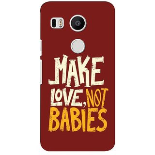 G.store Hard Back Case Cover For LG Google Nexus 5x