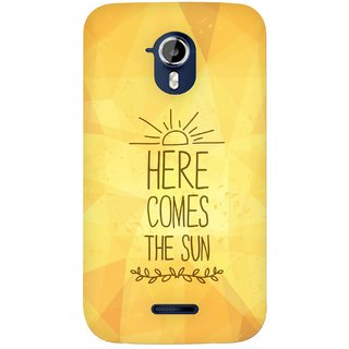 G.store Hard Back Case Cover For Micromax Canvas HD A117
