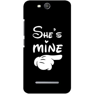 G.store Hard Back Case Cover For Micromax Canvas Juice 3 Q392