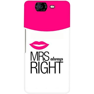 G.store Hard Back Case Cover For Micromax Canvas Knight A350