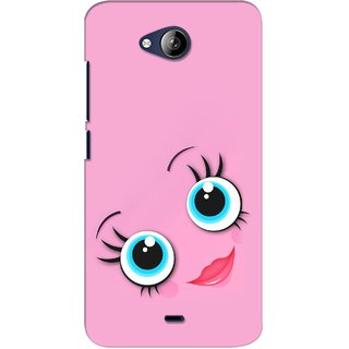 G.store Hard Back Case Cover For Micromax Canvas Play Q355