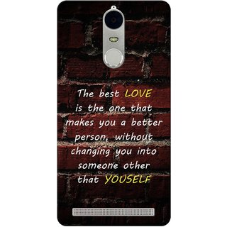 G.store Hard Back Case Cover For Lenovo K5 Note