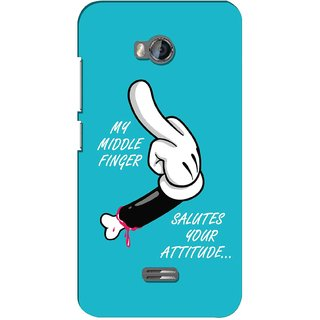 G.store Hard Back Case Cover For Micromax Bolt Q336