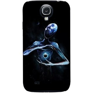 G.store Printed Back Covers for Samsung Galaxy S4 Black