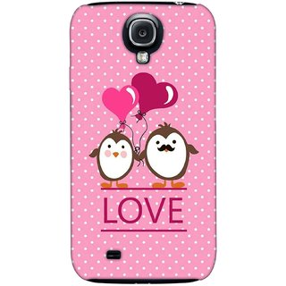 G.store Printed Back Covers for Samsung Galaxy S4 Pink