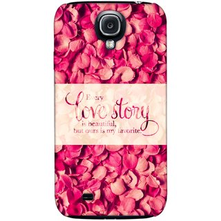 G.store Printed Back Covers for Samsung Galaxy S4 Red
