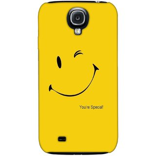G.store Printed Back Covers for Samsung Galaxy S4 Yellow