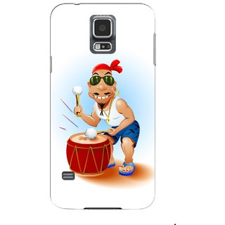 G.store Printed Back Covers for Samsung Galaxy S5 Black