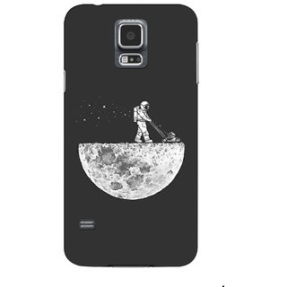 G.store Printed Back Covers for Samsung Galaxy S5 Grey