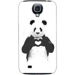 G.store Printed Back Covers for Samsung Galaxy S4 White