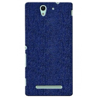 G.store Printed Back Covers for Sony Xperia C3 blue