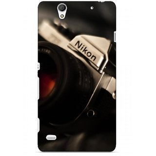 G.store Printed Back Covers for Sony Xperia C4 Black
