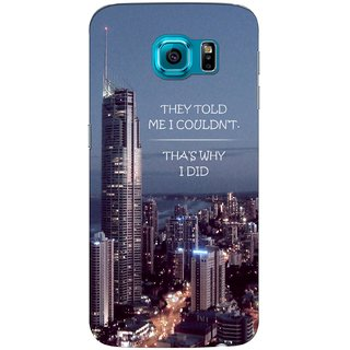 G.store Printed Back Covers for Samsung Galaxy S6 Edge Multi