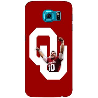 G.store Printed Back Covers for Samsung Galaxy S6 Edge Red