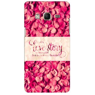 G.store Printed Back Covers for Samsung Z3 Red