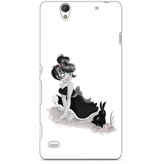 G.store Printed Back Covers for Sony Xperia C4 White