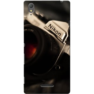 G.store Printed Back Covers for Sony Xperia T3 Black