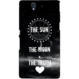 G.store Printed Back Covers for Sony Xperia Z Black