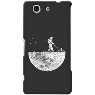 G.store Printed Back Covers for Sony Xperia Z4 Compact Grey