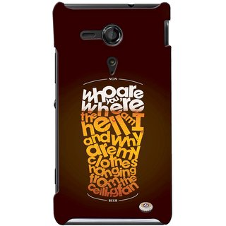 G.store Printed Back Covers for Sony Xperia SP Multi