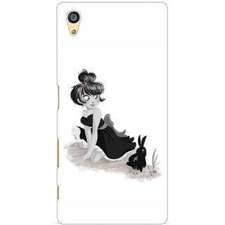 G.store Printed Back Covers for Sony Xperia Z5 White