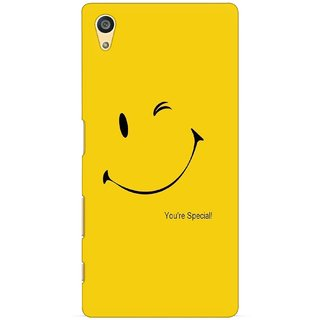 G.store Printed Back Covers for Sony Xperia Z5 Yellow