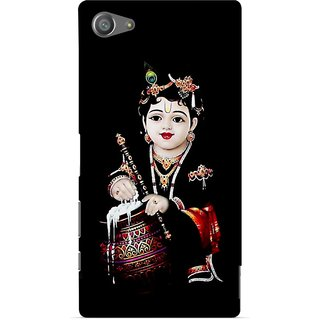 G.store Printed Back Covers for Sony Xperia Z5 Compact Black