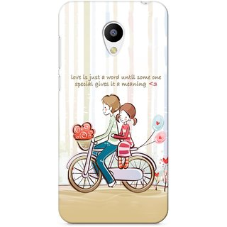 G.store Hard Back Case Cover For Meizu M2