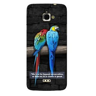 G.store Hard Back Case Cover For InFocus M350