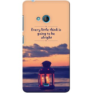 G.store Printed Back Covers for Microsoft Lumia 540 Multi