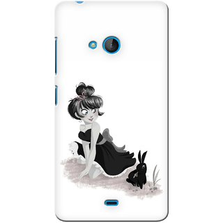 G.store Printed Back Covers for Microsoft Lumia 540 White