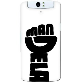 G.store Printed Back Covers for Oppo N1 White