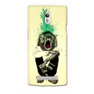 G.store Printed Back Covers for Oppo Find 7  Multi