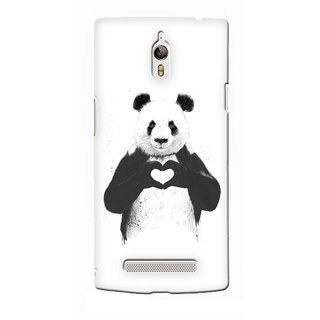 G.store Printed Back Covers for Oppo Find 7  White