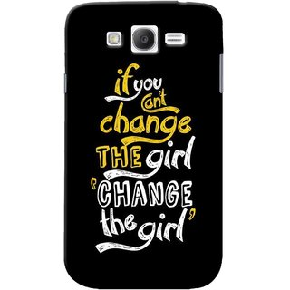 G.store Printed Back Covers for Samsung Galaxy Grand I9082 Black