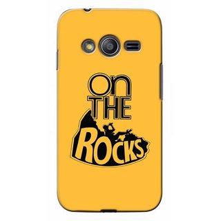 G.store Printed Back Covers for Samsung Galaxy Ace 3 Yellow