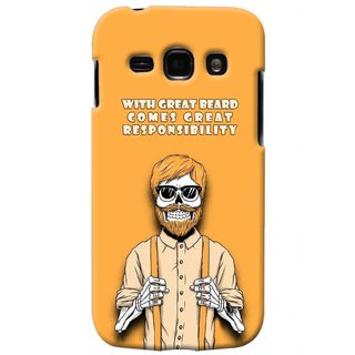 G.store Printed Back Covers for Samsung Galaxy A3 Yellow