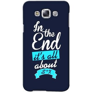 G.store Printed Back Covers for Samsung Galaxy A5  Blue