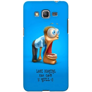 G.store Printed Back Covers for Samsung Galaxy Grand Prime Blue