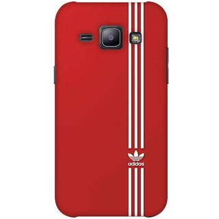 G.store Printed Back Covers for Samsung Galaxy J1 Red