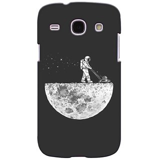 G.store Printed Back Covers for Samsung Galaxy Core I8262 Grey