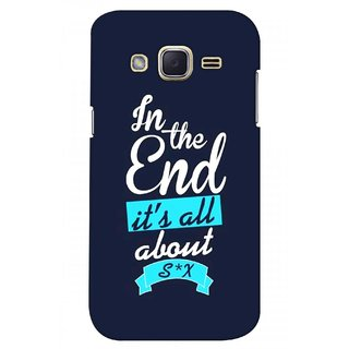 G.store Printed Back Covers for Samsung Galaxy J2 Blue